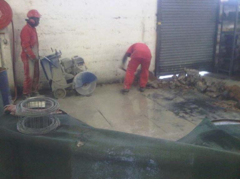 add construction - Beare Holdings Lift Shaft